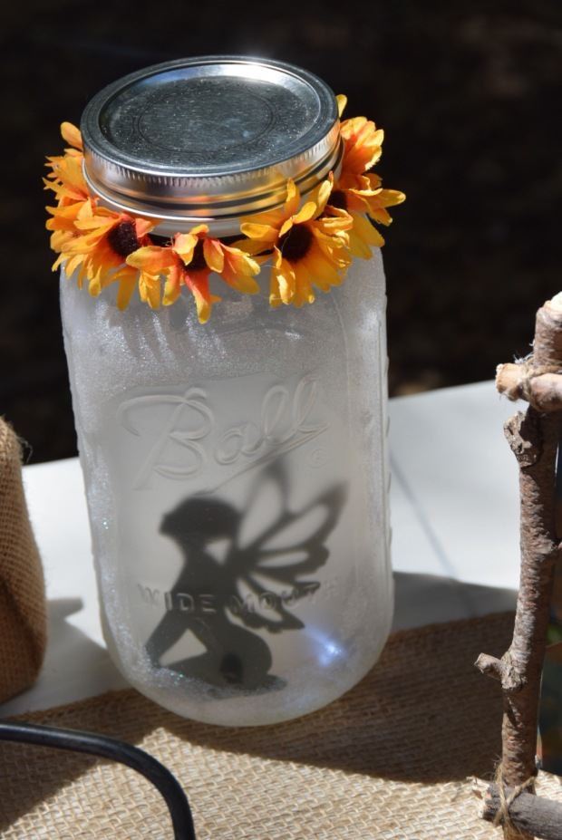 Woodland Fairy Trapped In A Jar