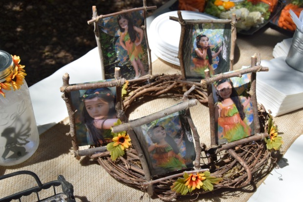 Woodland Fairy Photo Display